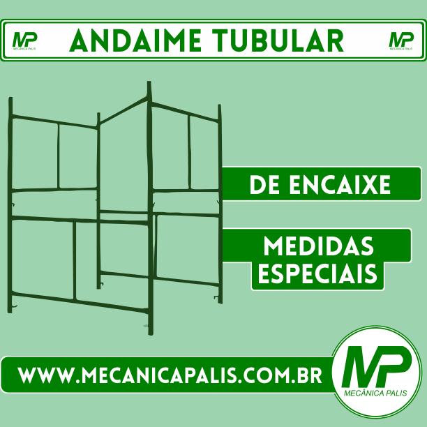 Andaime Tubular com medidas especiais Esse e muitos outros produtos em nosso site Entre agora: www.mecanicapalis.com.br