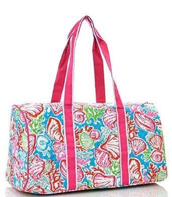 Seas Duffle 20 Bag Embroidery Blank By Myfabricfix On Etsy