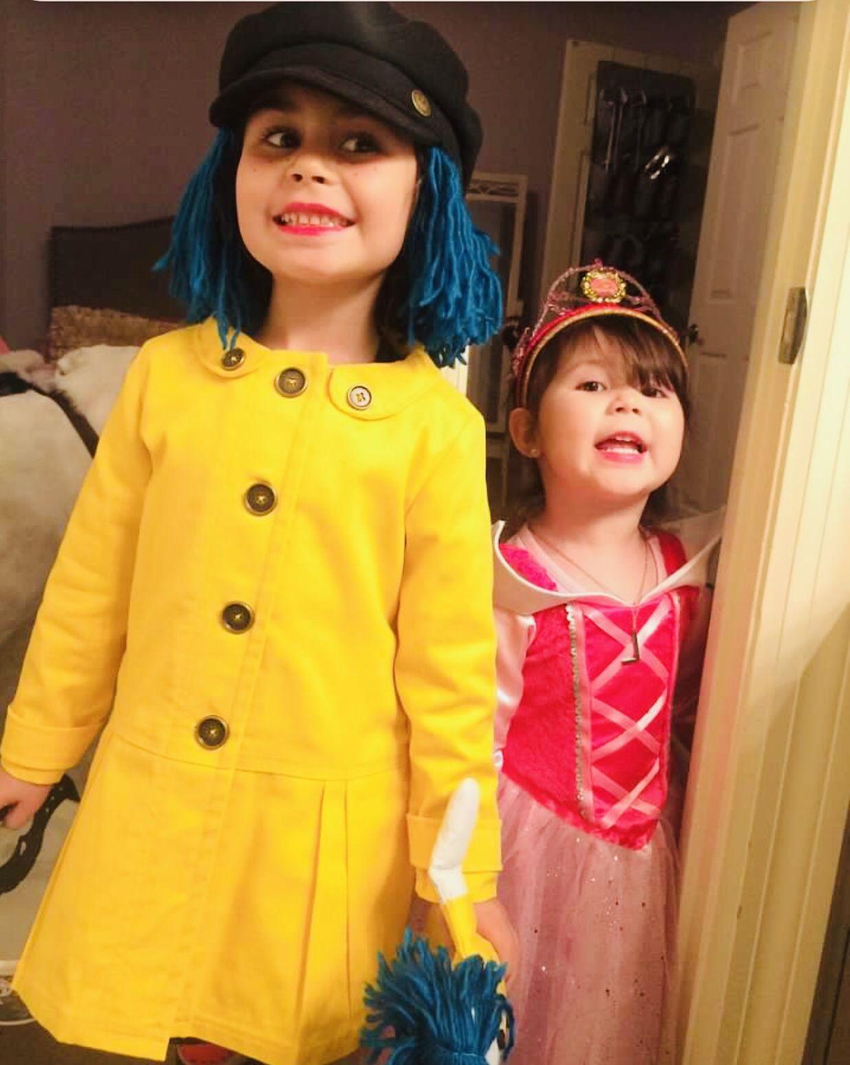 Toddler Coraline Costume Diy Coraline Costume Yellow Coat Costumes