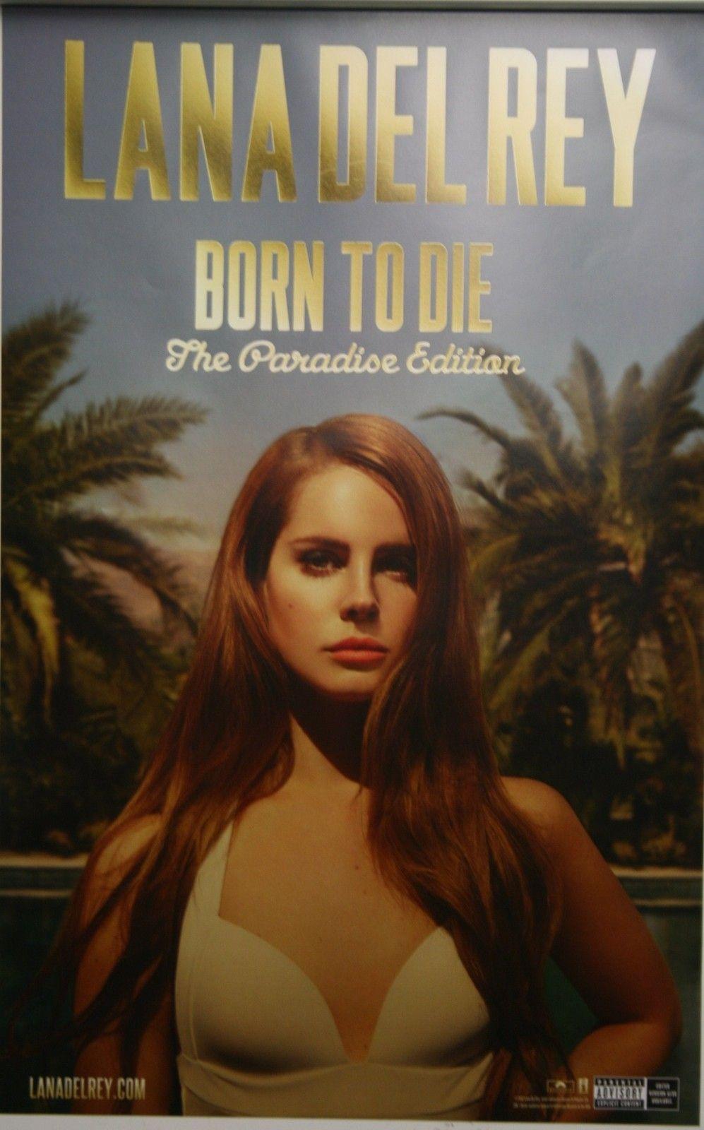 Lana Del Rey Poster Lana Del Rey Lana Del Rey Paradise Lana Del