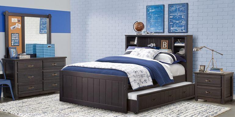 Kids Elliot Park Cinnamon 5 Pc Full, Kids Full Size Bedroom Furniture Sets