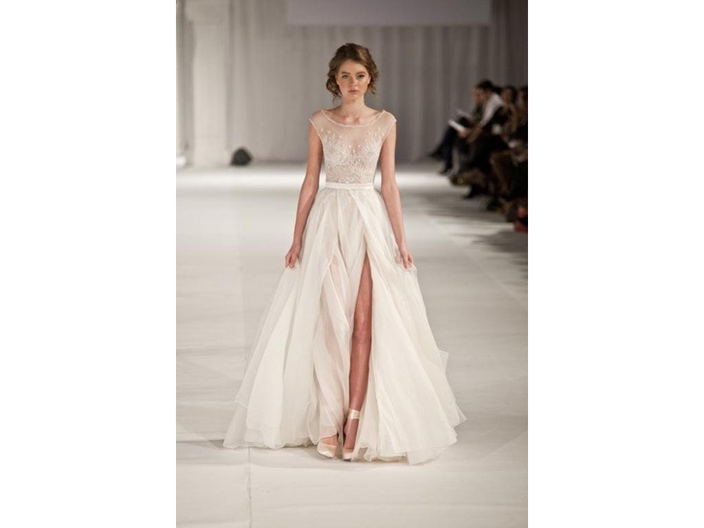 Paolo Sebastian Swan Lake, $4,500 Size: 10   Used Wedding Dresses ...