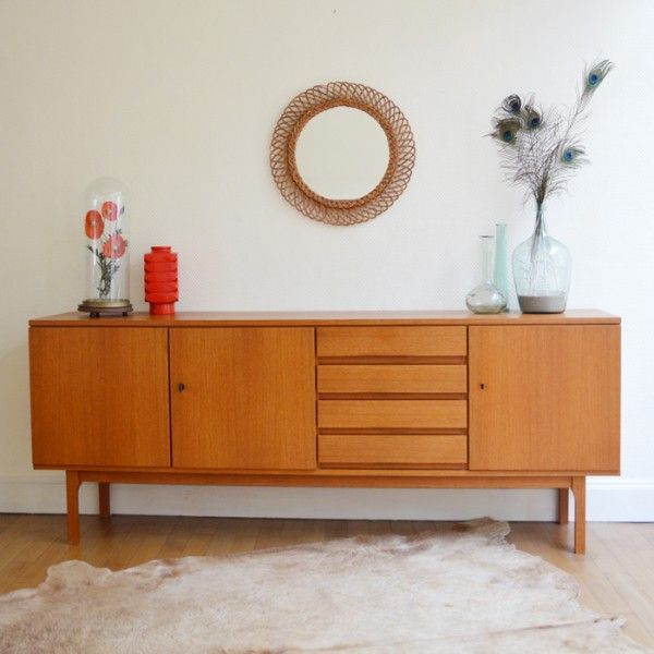 enfilade scandinave vintage design pinterest salons buffet and consoles. Black Bedroom Furniture Sets. Home Design Ideas
