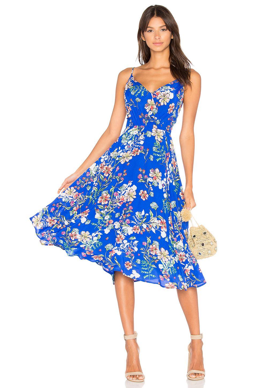 Yumi Kim Floral Midi Dress in Sunday Funday | REVOLVE