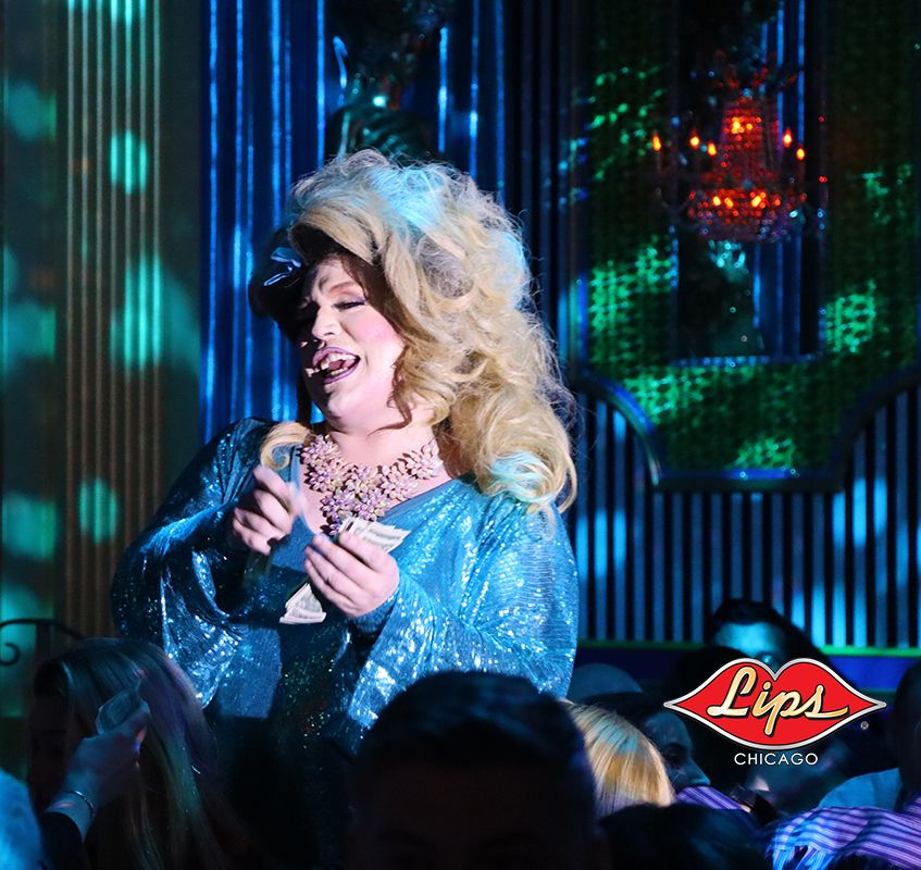 Our fabulous showgirls give you lots of laughs nightly at LIPS! Call for reservations at 312-815-2662 #lipschicago #chicago #bachelorette #drag #dragshow #dragqueen #birthday #celebration #burlesque #instadrag #rpdr #rupaul #rupaulsdragrace #instagay #burlesqueshow #queen