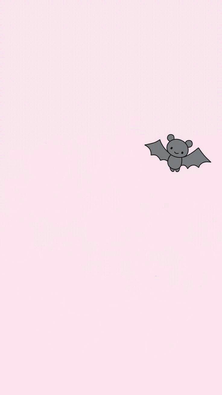 Little Bat Wallpaper Background Lockscreen Screensaver Batman Pink Halloween Wallpaper Iphone Wallpaper Iphone Cute Wallpaper Trends