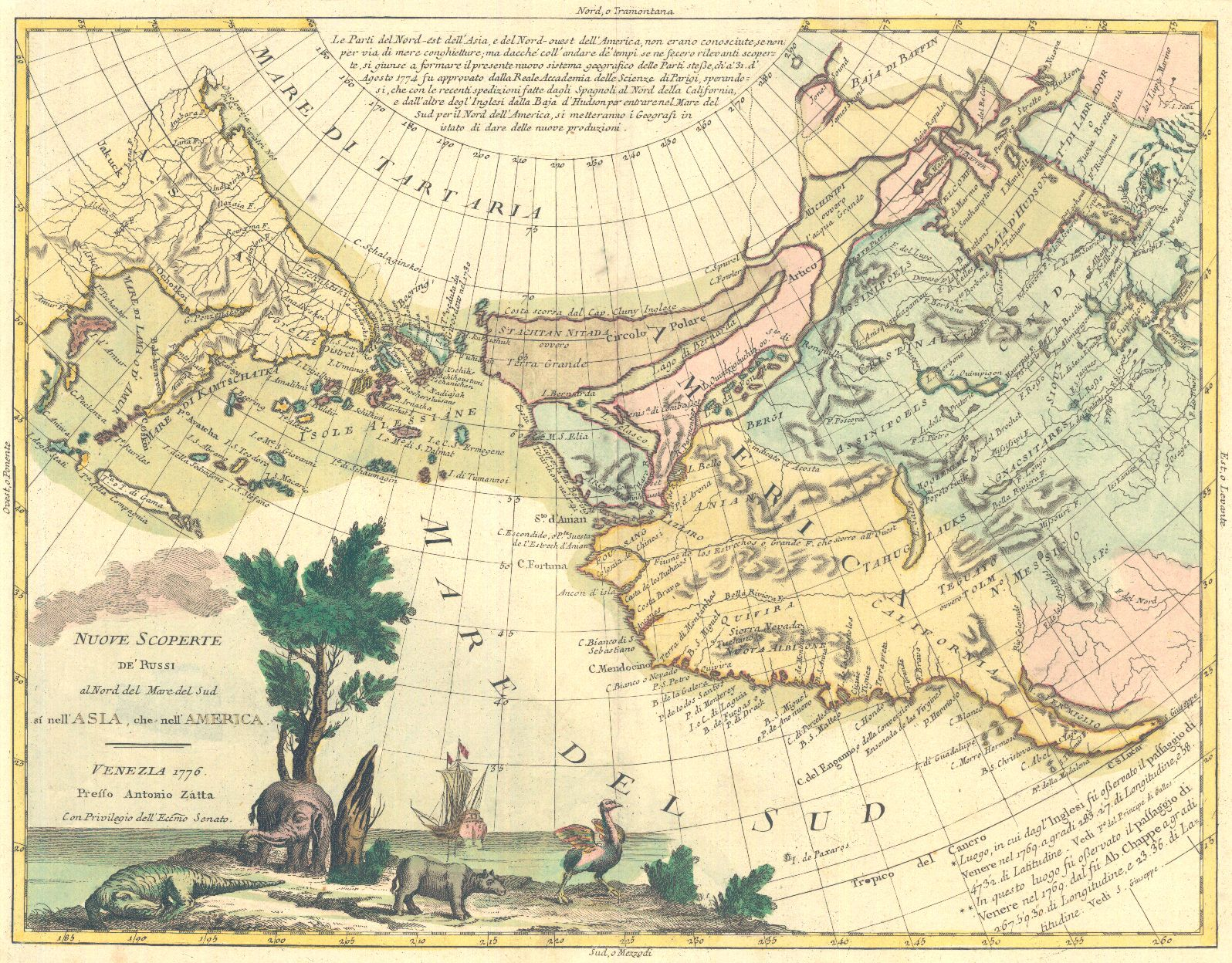 Antonio zatta nuove scoperte derussi al nord del mare del sud si world map old maps world map print 146 by mapsandposters on etsy gumiabroncs Images