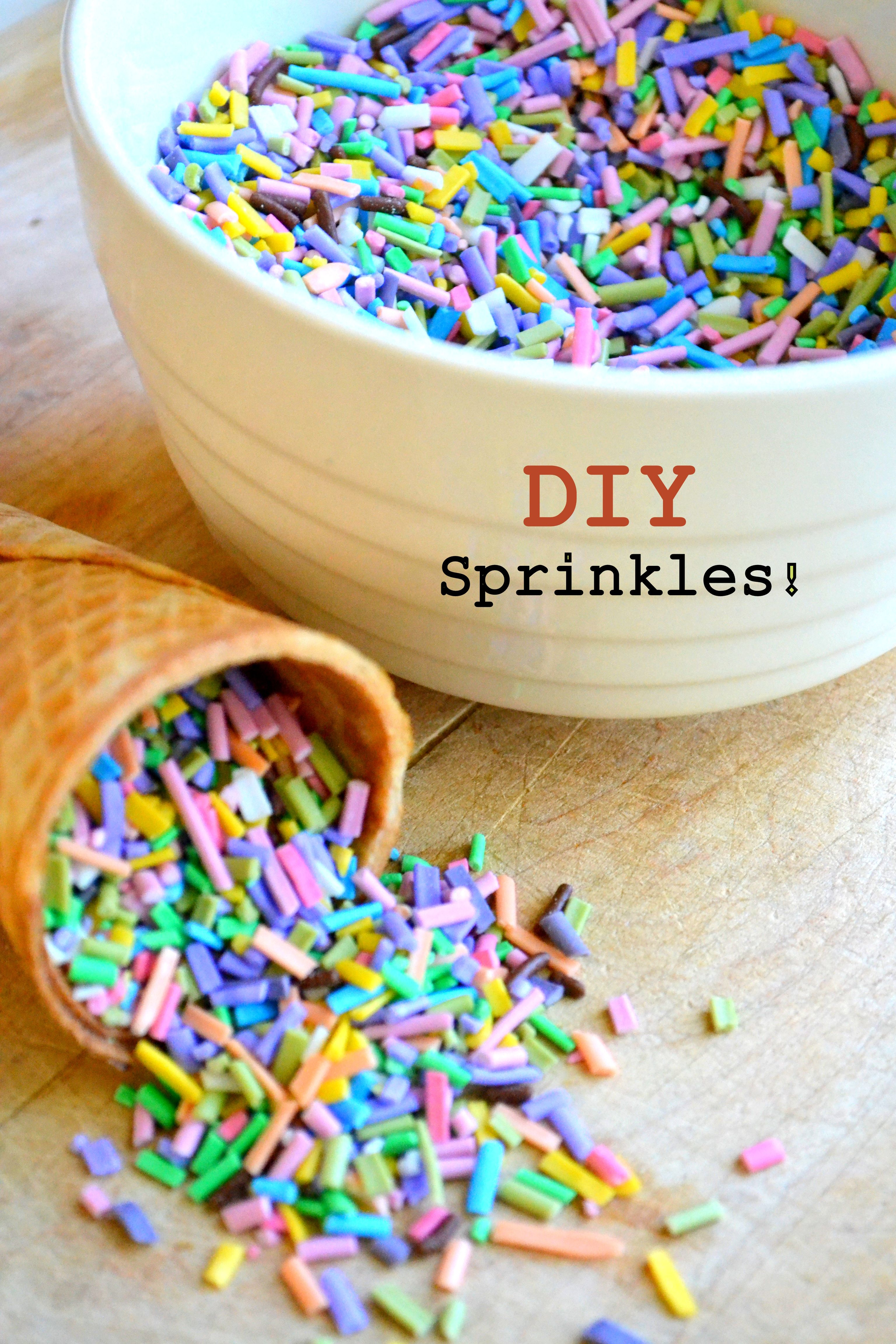 How To Make Your Own Cake Sprinkles