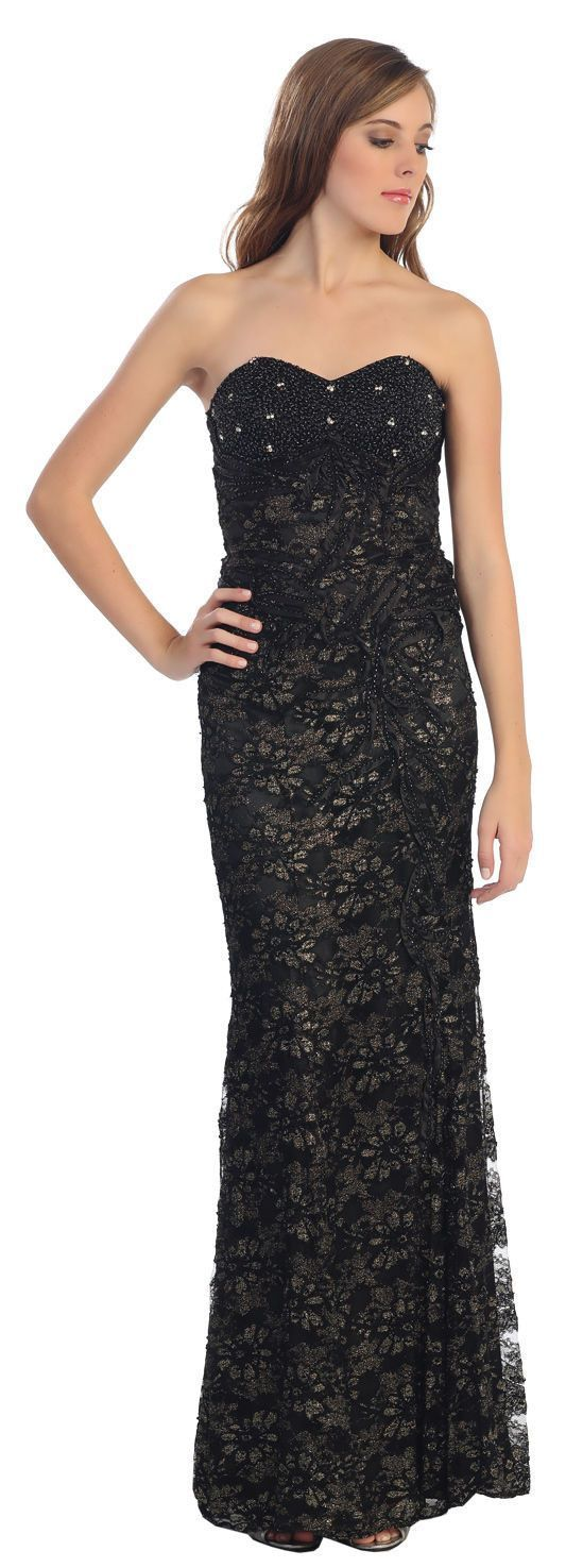 Long lace formal cheap prom dress vintage evening gown products