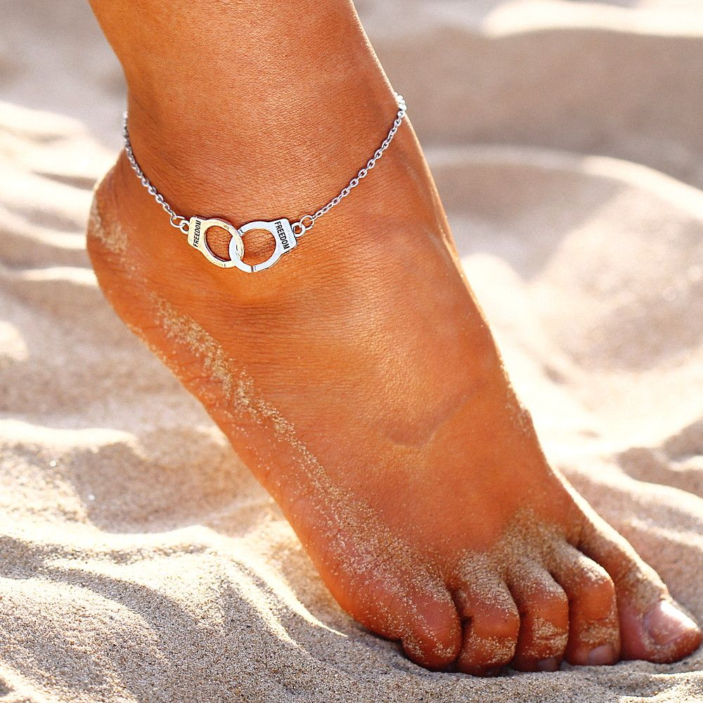 Carte Blanche Anklets Discover More About Silver Color Fashion Bohemian Friendship