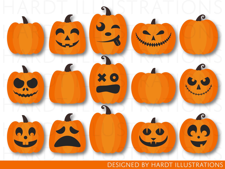 Pumpkin Clipart, Pumpkins Clipart, Halloween Clipart ...