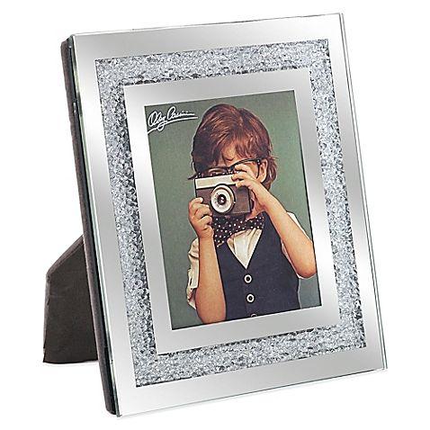 Oleg Cassini Crystal Diamond 23 Inch X 3 Inch Picture Frame