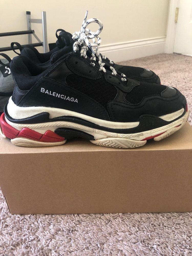 da21dd42b08a Balenciaga Triple S Black Size 44  fashion  clothing  shoes  accessories   mensshoes  athleticshoes (ebay link)