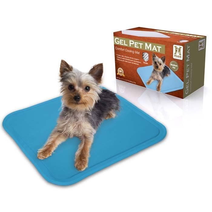 Hugs Pet Products Chilly Mat Keeps Your Dog Cool On Hot Days