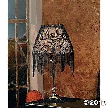 Halloween Lampshade Topper Oriental trading and Halloween parties