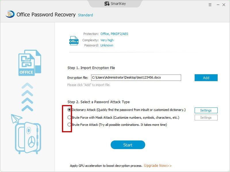 How to recover password for word excel access and