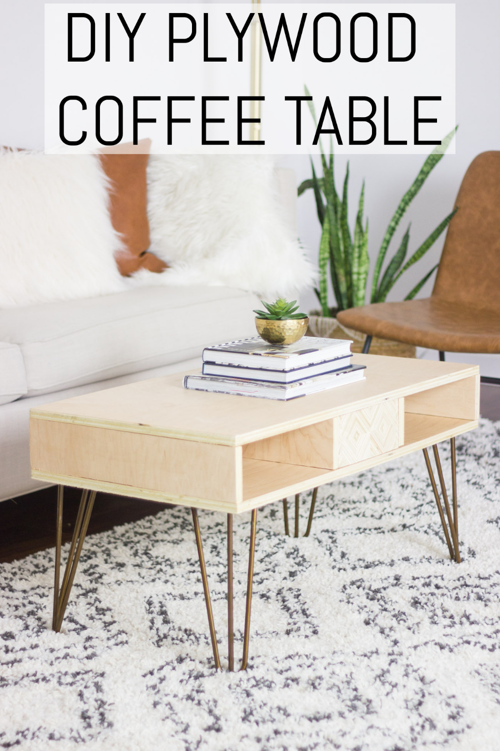 Learn How To Make This Diy Plywood Coffee Table With Patterned Plywood Panels That Attach With Magnets And Plywood Coffee Table Coffee Table Coffee Table Wood [ 1500 x 1000 Pixel ]