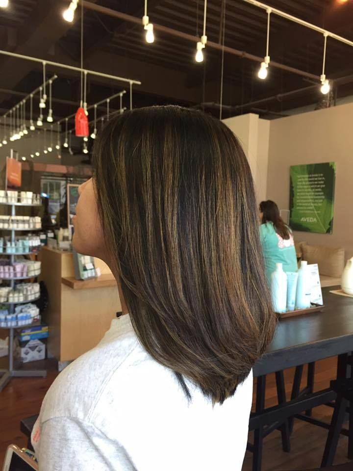 Fresh cut + shimmery balayage. ✨ Is there a better feeling? 🙌  Hair by Emmie | Orange Beach | #FusionSpaSalonAveda http://fusionspasalonaveda.com/