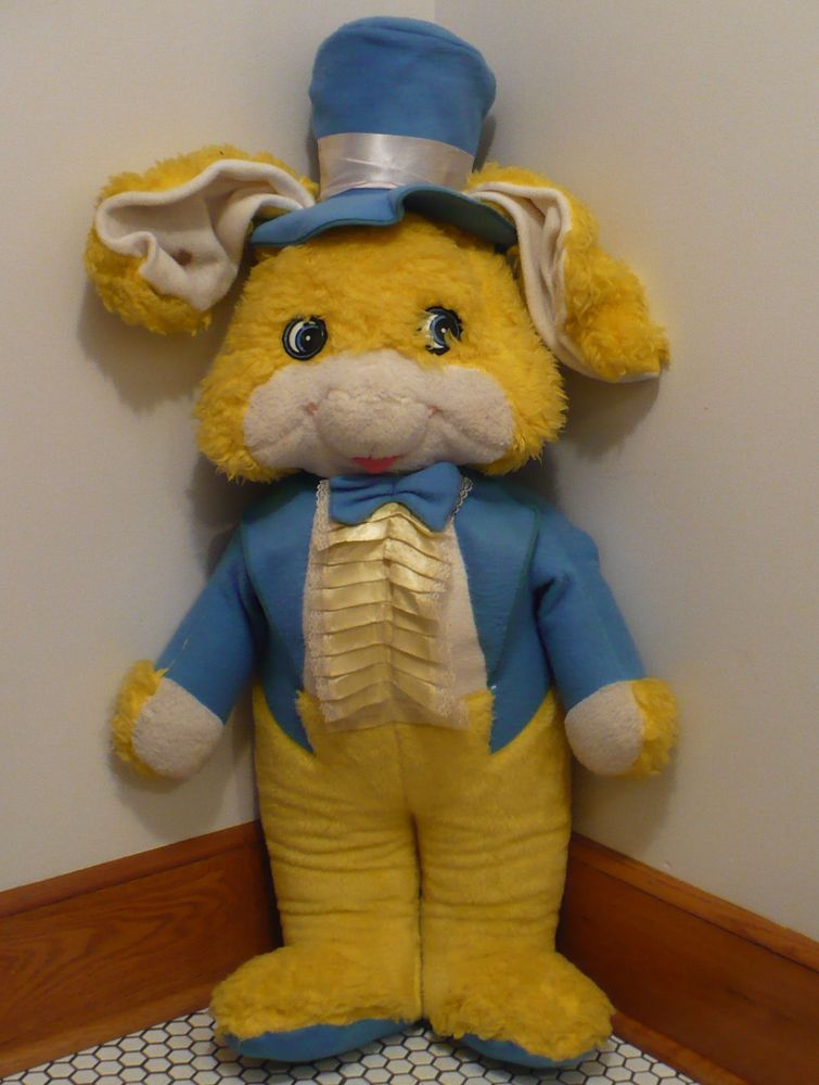 58635ac27b5 Vtg GIANT SIZE Stuffed Mr Easter Bunny Tuxedo   Tails Store Display ...