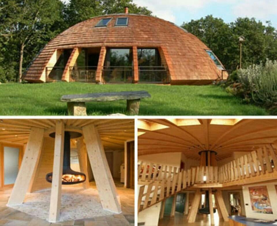 Dome Home Design Ideas: Living Off The Grid House Plans