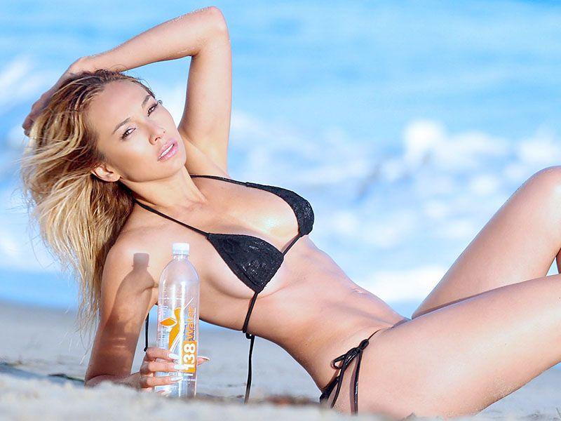 French Bikini Model