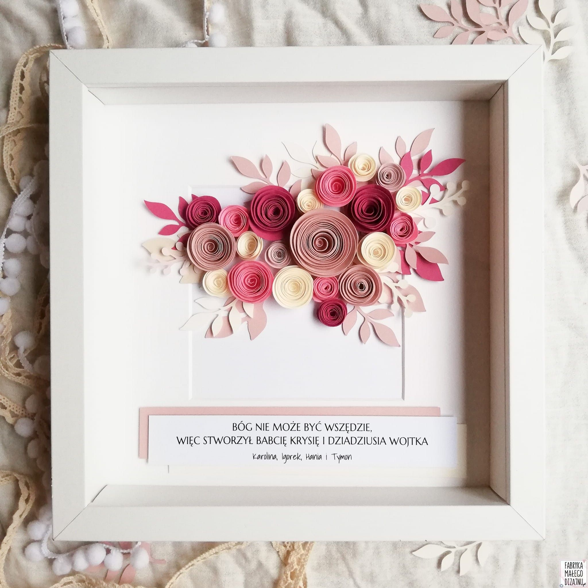 Ramka Floral Ramki Dzien Babci I Dziadka I Kolor