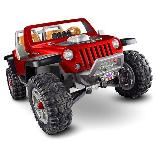 Power Wheels Jeep Hurricane With Monster Traction Red Shop