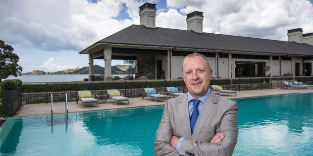 Neil McFarLane, General Manager of Helena Bay Lodge. Photo ...