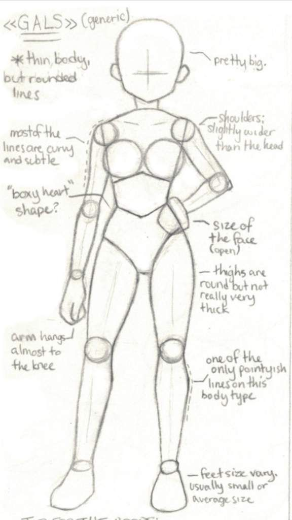 Horikoshi Style Guide (Bodies) | Wiki | My Hero Ac