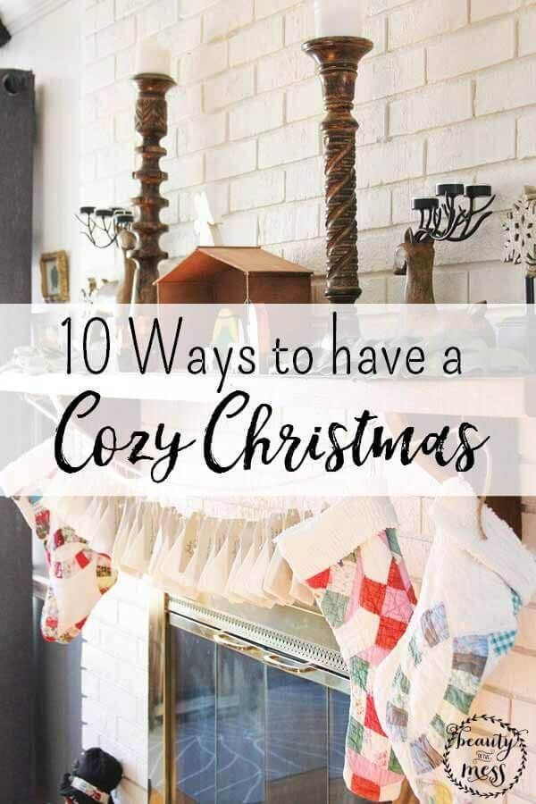 10 Ways to have a Cozy Christmas Cozy christmas, Cozy and Decoration