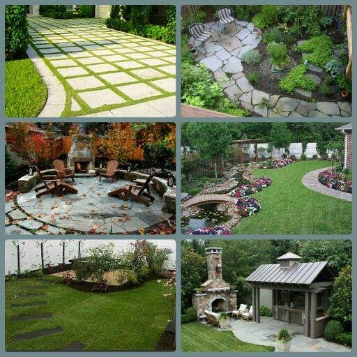 Backyard inspiration board | Backyard inspiration ...
