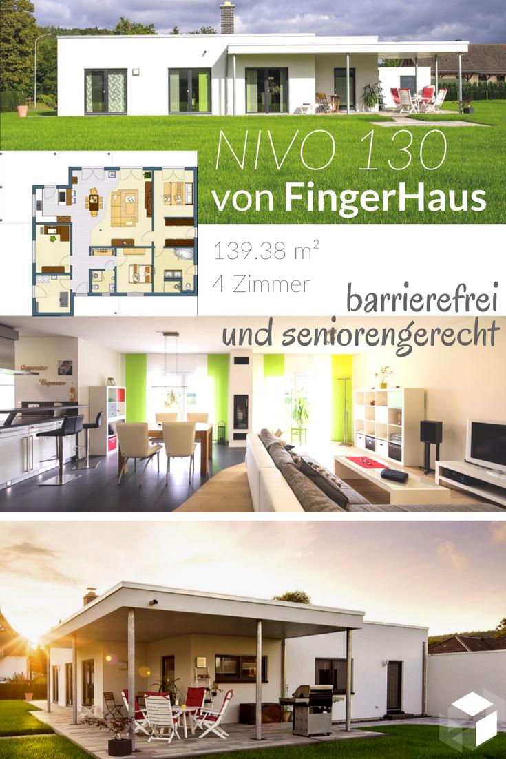 Das NIVO 130 Von FingerHaus Tippe Auf Bild Und Gelang Direkt Zu Einer Grossen Auswahl An Seniorengeeigneten Hausern Fertighausde Senioren