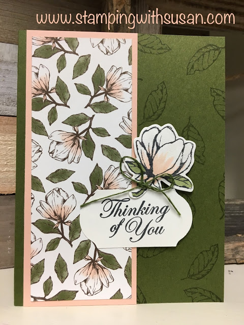 Stampin Up Good Morning Magnolia Stamping Ideas border=