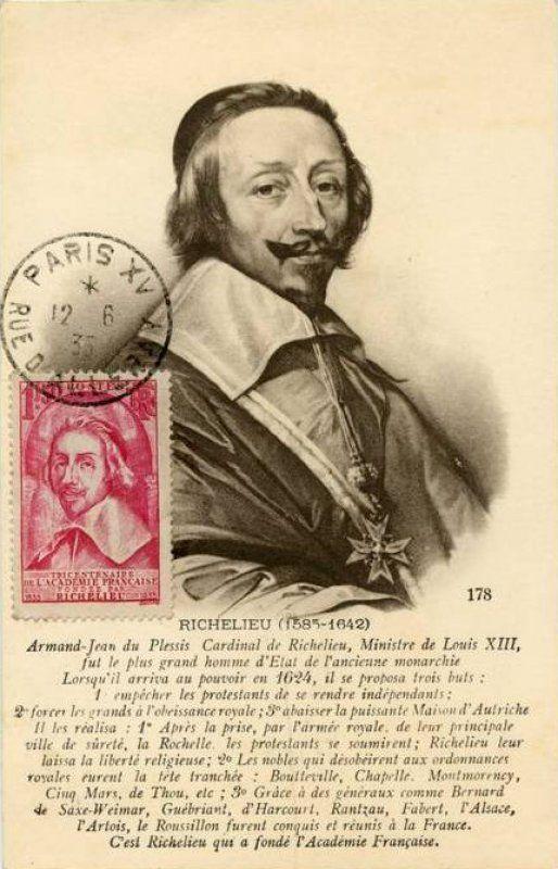 Timbre Tricentenaire De L Academie Francaise Fondee Par Richelieu 1635 1935 Wikitimbres Timbres De France Academie Francaise France