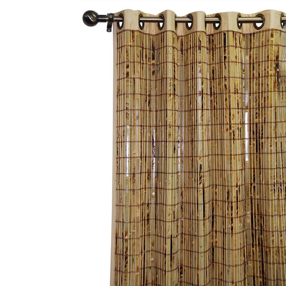 84 X54 Curtain Panel Bamboo Grommet