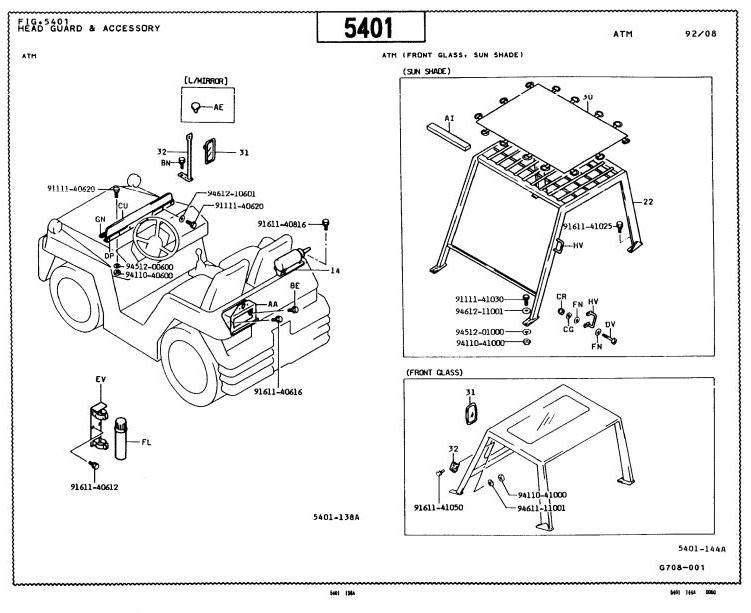 Toyota Forklift Maintenance Manual