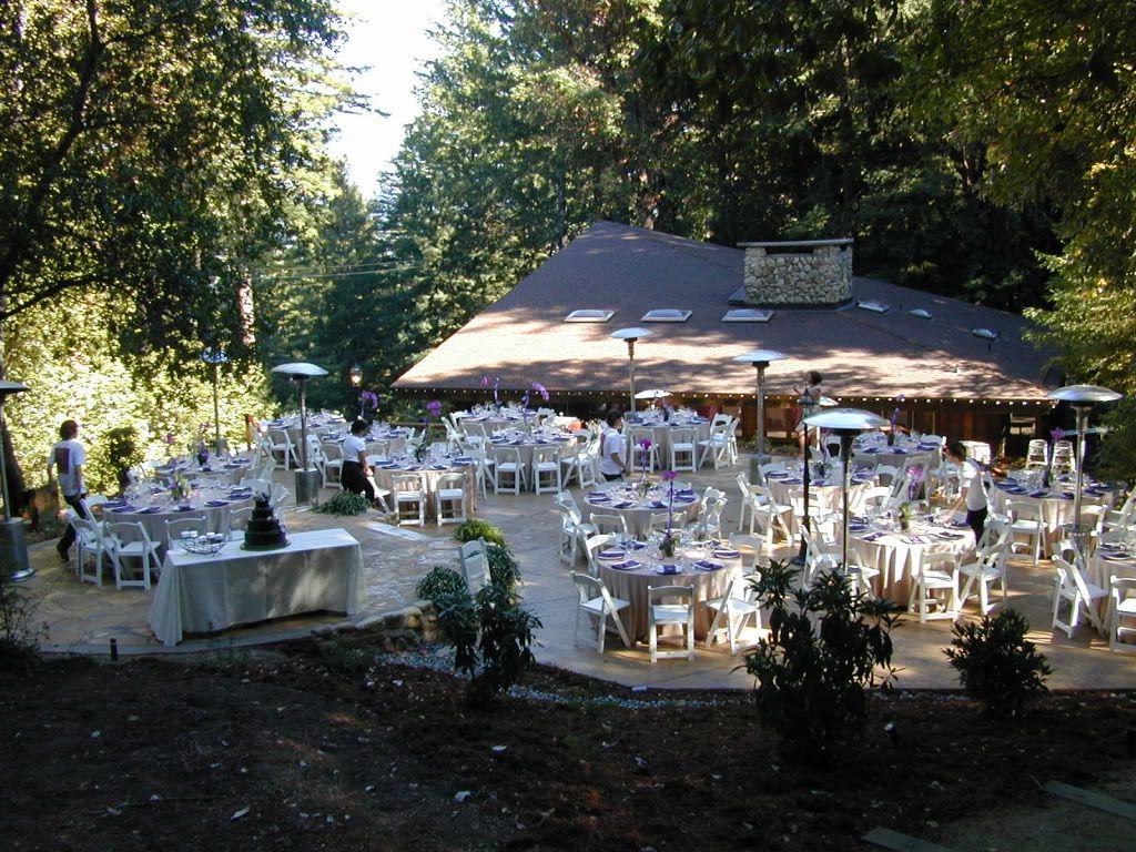 Sequoia Retreat Center Reception Idea Outdoors