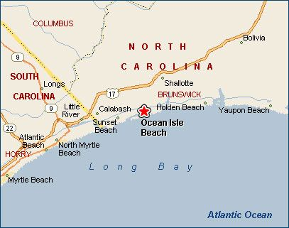 Ocean Isle Beach, North Carolina | Favorite Places & Spaces | Ocean on map of cherry grove sc, island sunset beach nc, map of north carolina coast, map of atlantic beach sc, map of surfside beach sc, map of north myrtle beach sc, map of garden city sc, map of sunset beach ca, aerial view of sunset beach nc,