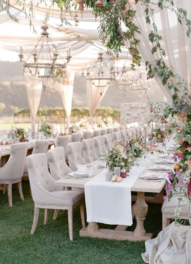 The Ark Collection High End Tabletop Rentals With Jose Villa And Joy Proctor For Flutter Magaz Long Table Wedding Alfresco Wedding Outdoor Wedding Reception