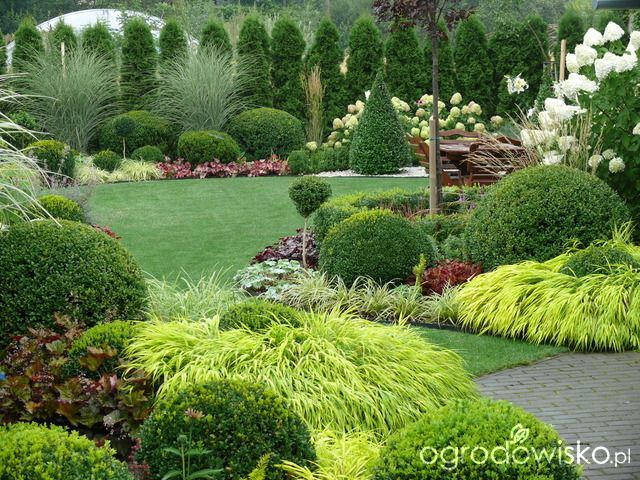 Ogrd may ale pojemny garden pinterest landscaping design front gardens workwithnaturefo