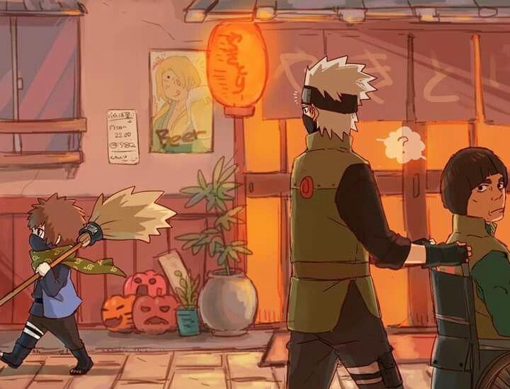 Jaja Kakashi descubriendo a su bastardito   Anime naruto ...
