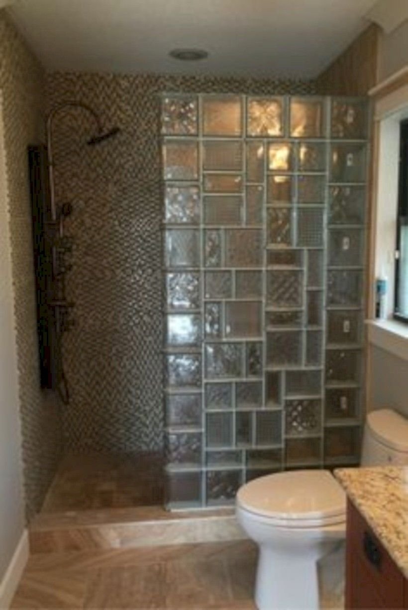 Good Awesome 41 Amazing Glass Brick Shower Division Design Ideas  Https://matchness.com