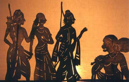 Image result for puppet show ramayan