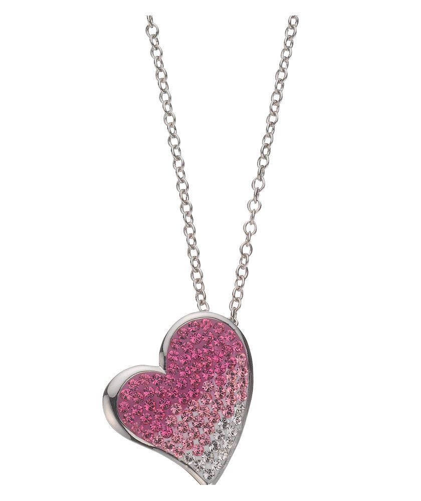 Buy prizma swarovski crystal element heart pendant at argos buy prizma swarovski crystal element heart pendant at argos your online aloadofball Image collections