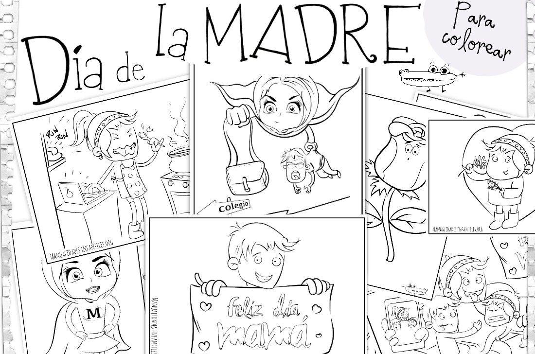 Dibujos para el Día de la Madre | Dedicatorias para mama, Día de la ...