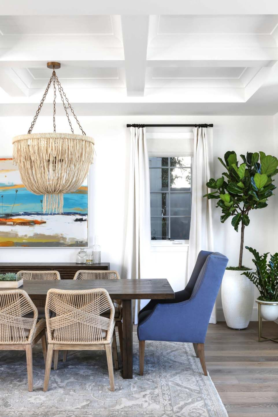 Get The Look Beachy Traditional Dining Room Coastal Living