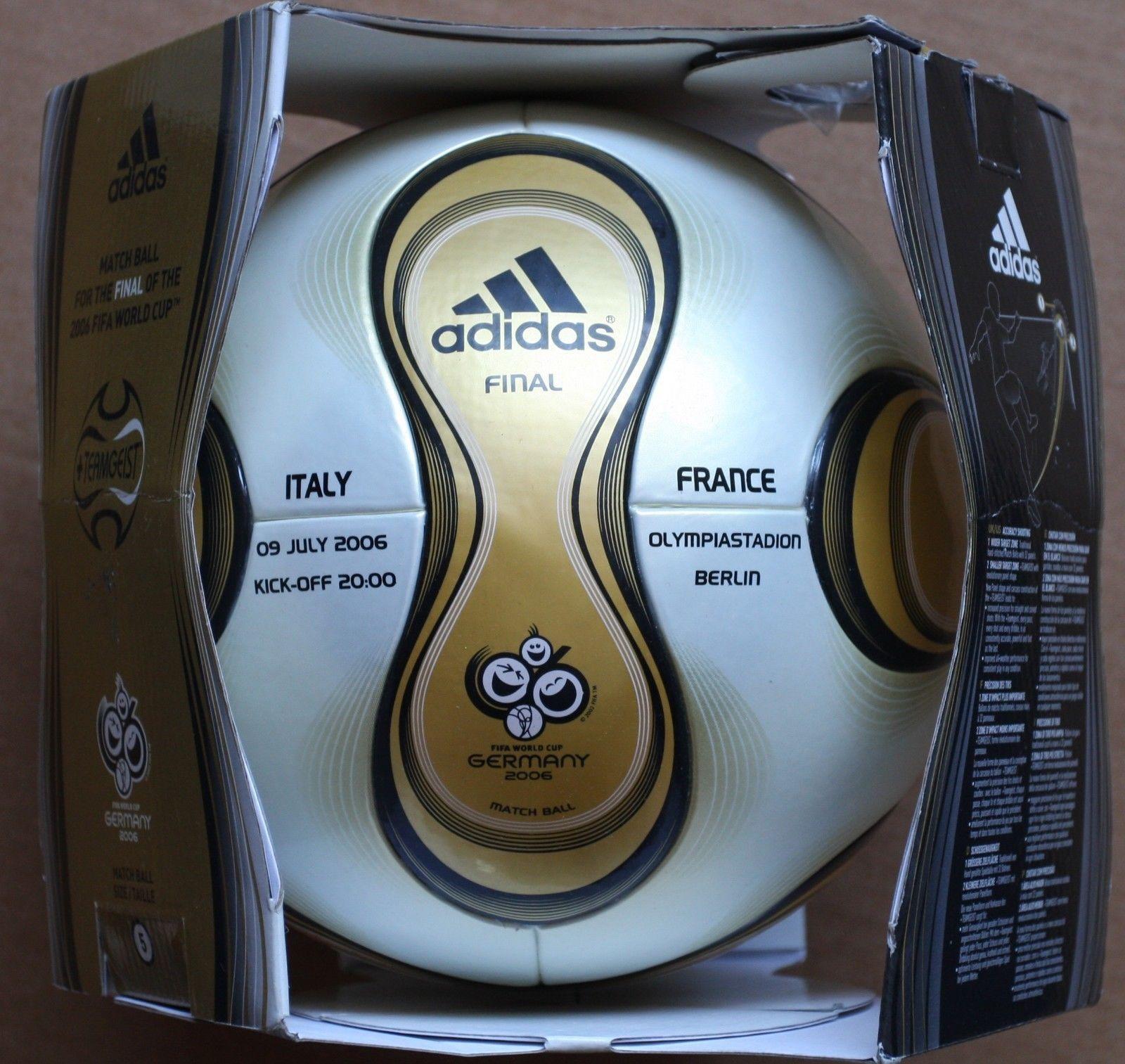 Adidas Teamgeist 2006 World Cup Final Berlin match ball