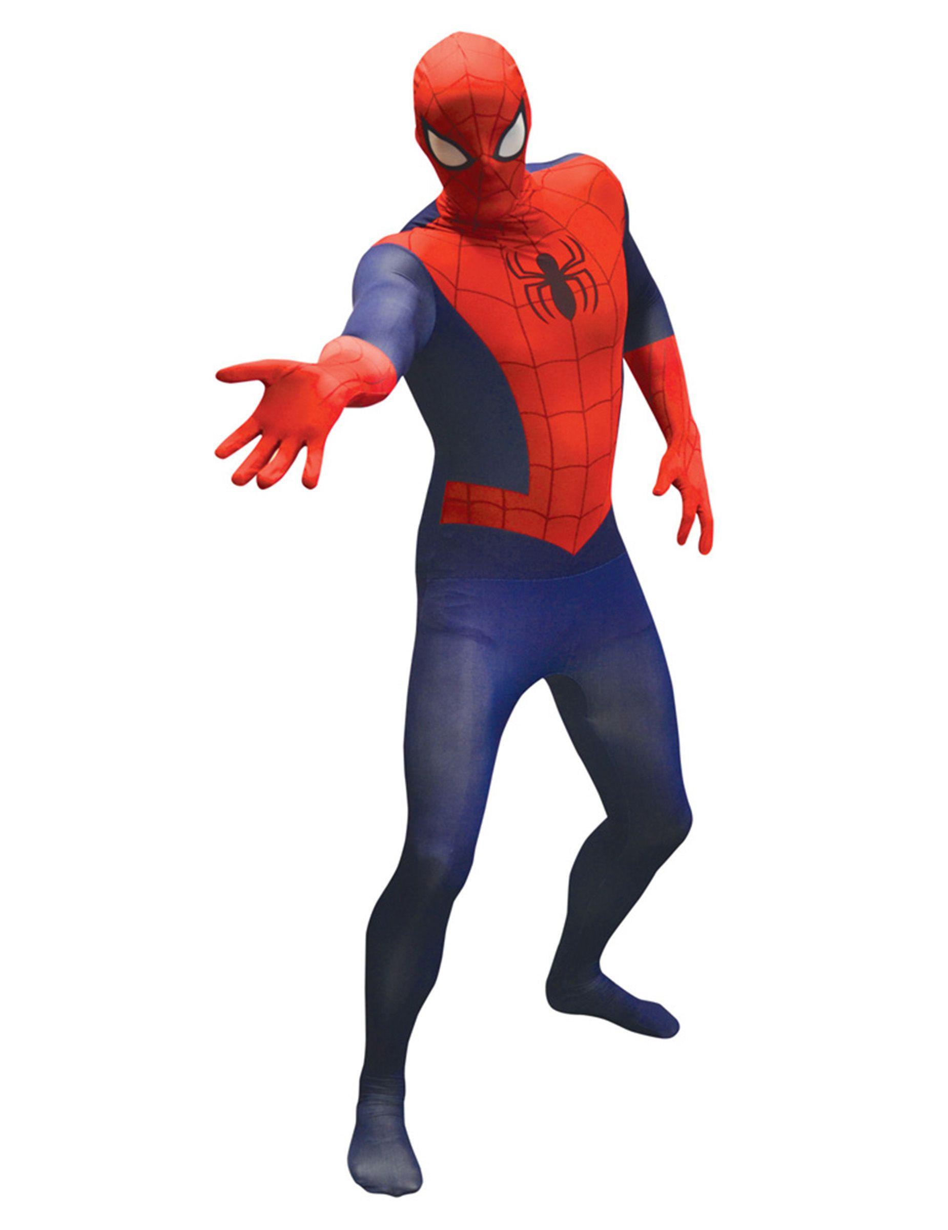 Marvel Spiderman Value Morphsuit Lizenzware blau rot