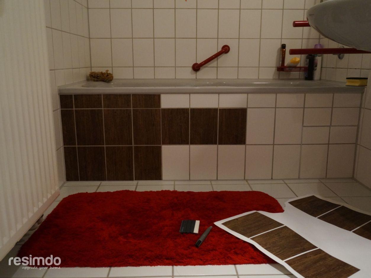 Badezimmer Fliesen Zum Uberkleben Bathroom Home Inspiration