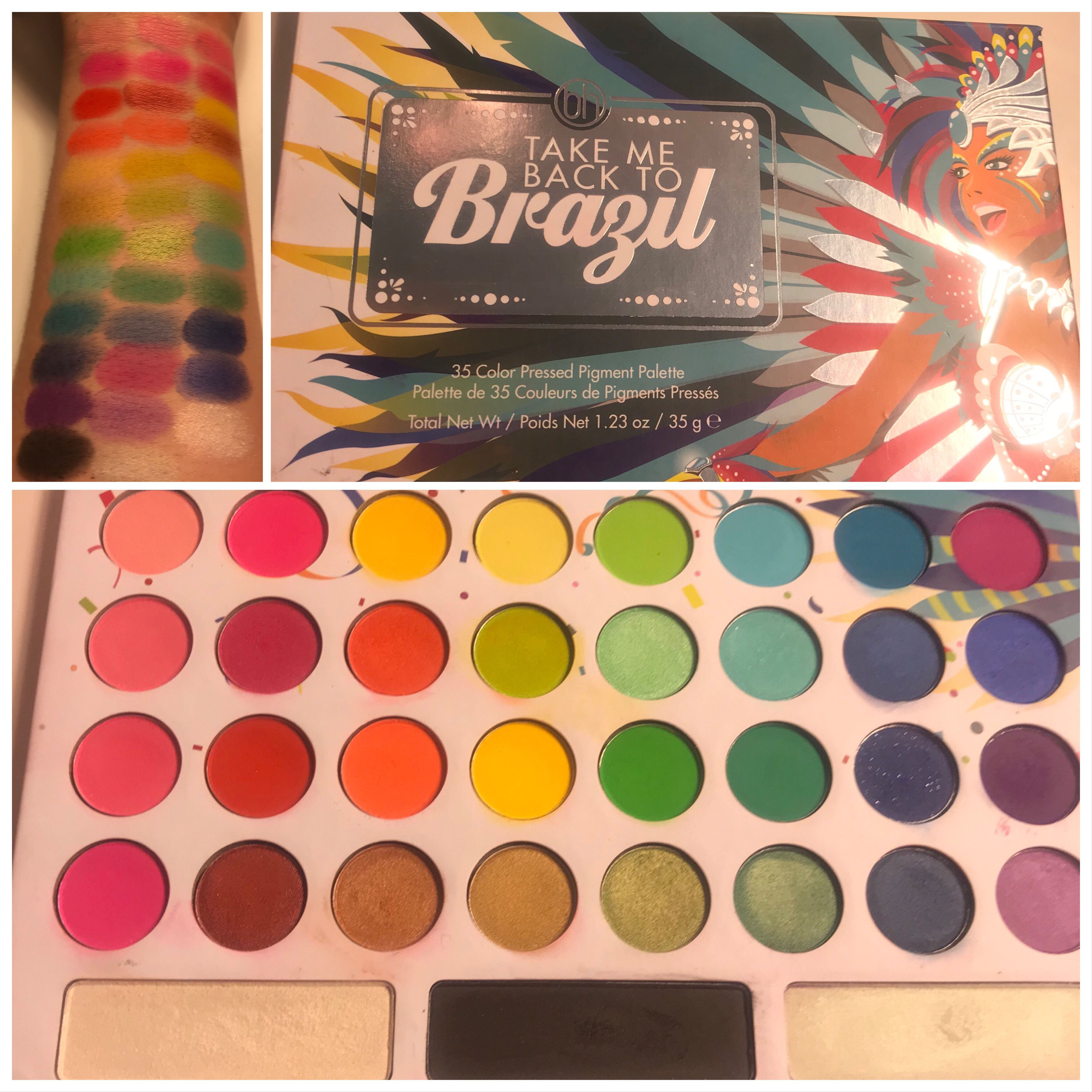 The Bh Cosmetics Take Me Back To Brazil Palette Can Be Found For 17
